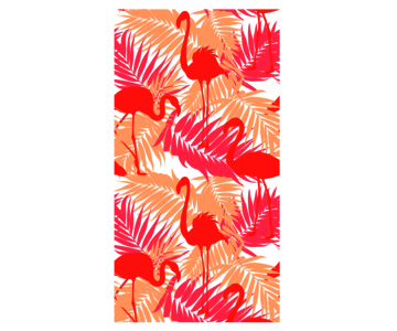 strandlaken Flamingo / pink orange
